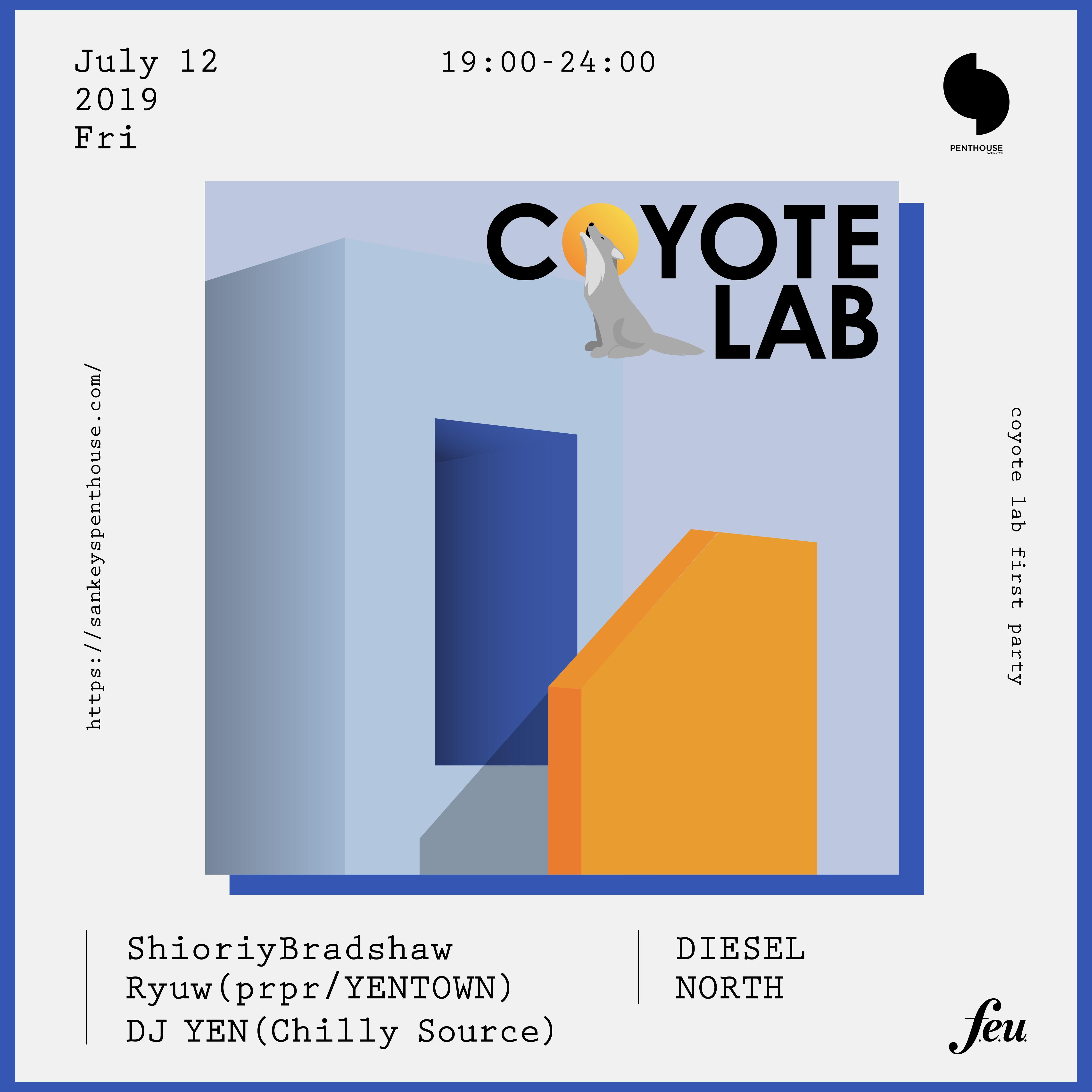 COYOTE LAB -first party-