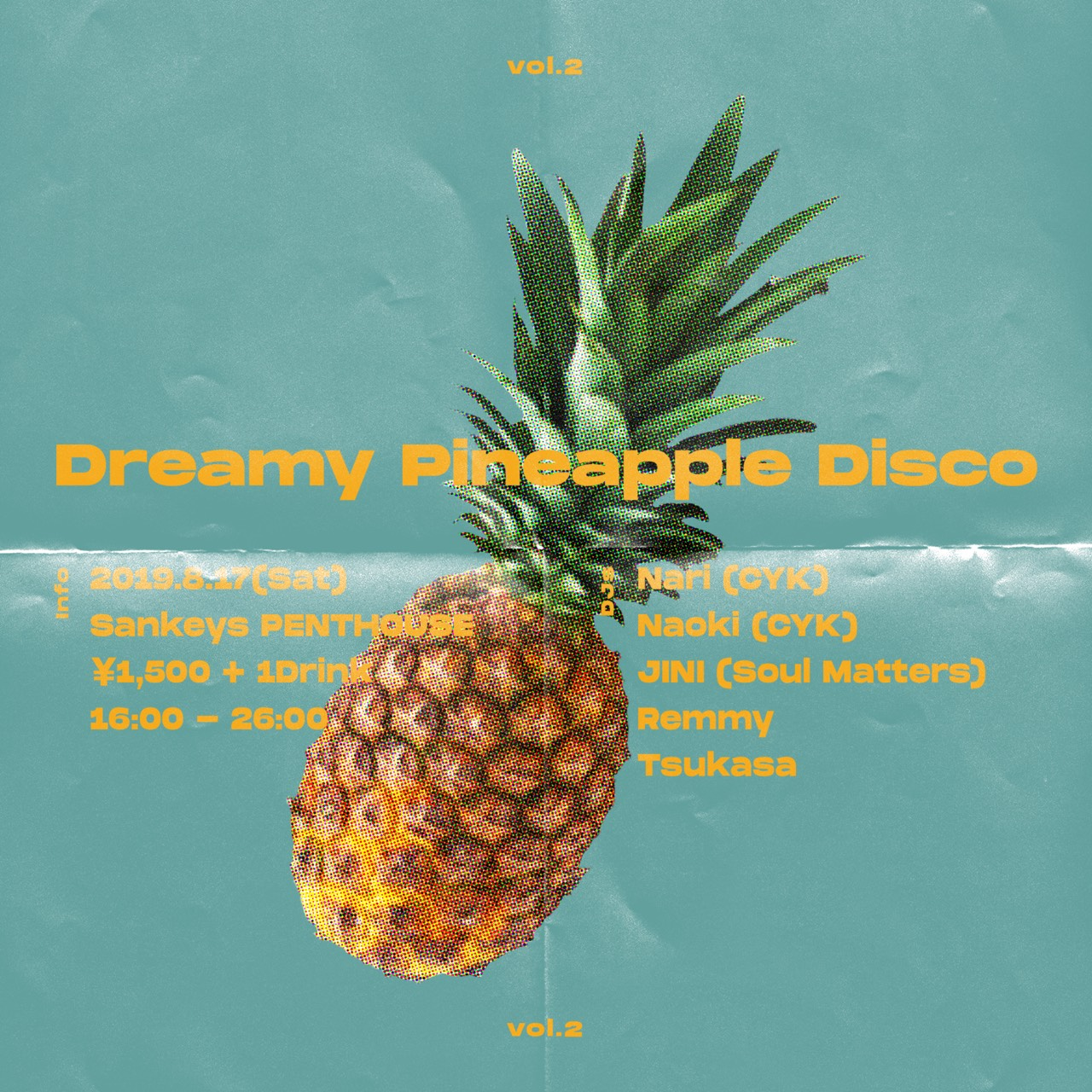 Dreamy Pineapple Disco vol.2
