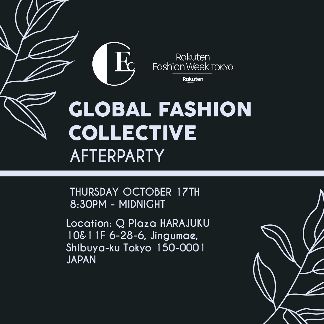GLOBAL FASHION COLLECTIVE AFTERPARTY