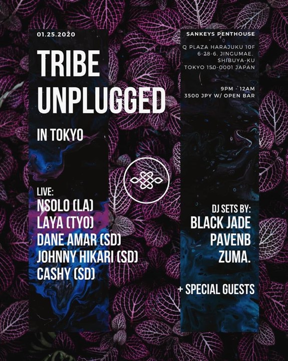 TRIBE UNPLUGGED IN TOKYO