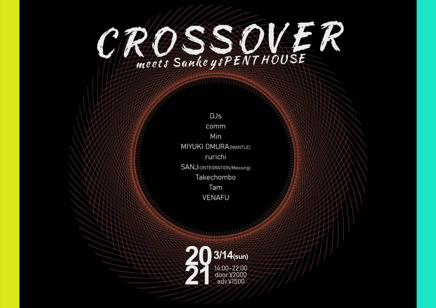 CROSS OVER meets Sankeys PENTHOUSE